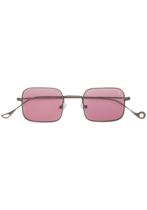 Eyepetizer square frame sunglasses - Metallic