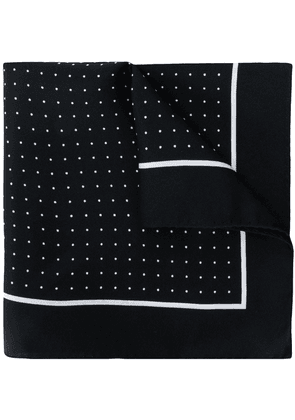 Dolce & Gabbana polka dot pocket square - Black