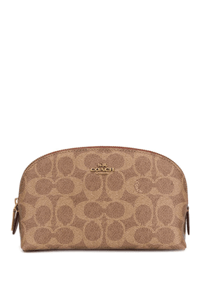 198d1227c Coach 34 signature canvas tote with tattoo | Brown | MILANSTYLE.COM