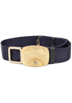 Dorothee Schumacher rising sun buckle belt - Blue