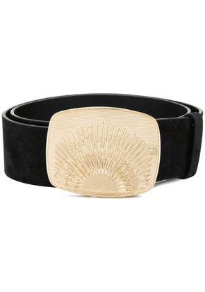 Dorothee Schumacher signature buckle belt - Black