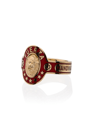 Foundrae cigar band 18kt gold ring