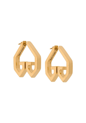 Givenchy Heart earrings - Gold
