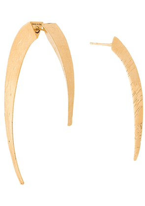 Givenchy spike earrings - Gold