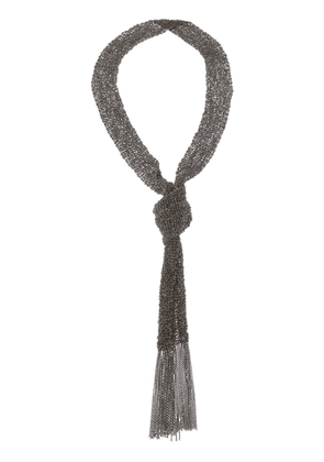Christian Koban woven necklace - Black