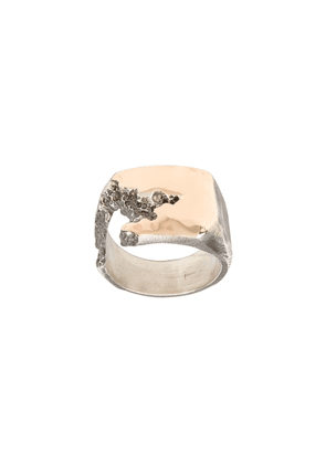 Tobias Wistisen side crack ring - Silver