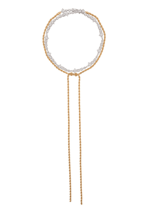 Fallon Yacht Club wrap lariat necklace - Gold