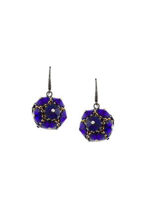 Bottega Veneta drop earrings - Blue
