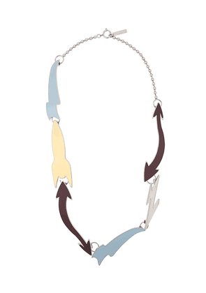 Marni abstract necklace - Blue