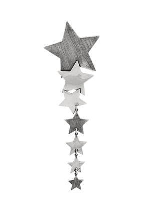 Saint Laurent star drop earrings - Silver