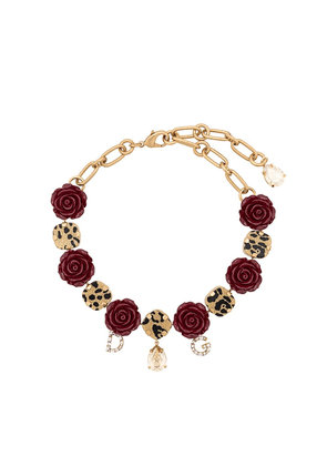 Dolce & Gabbana roses necklace - Gold