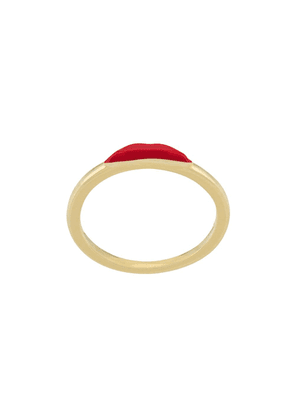 Eshvi lips ring - Gold