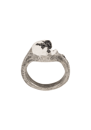 Tobias Wistisen Crack ring - Black