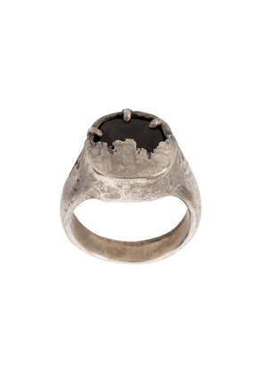 Tobias Wistisen Shield ring - Metallic
