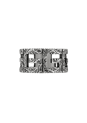 Gucci Square G motif ring - Silver