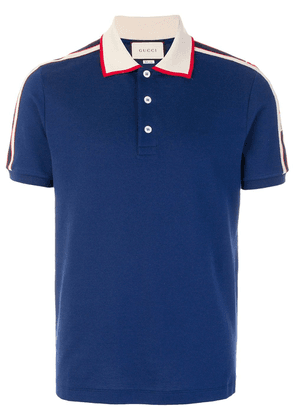 Gucci logo polo shirt - Blue