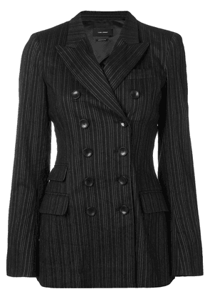 Isabel Marant fitted double breasted blazer - Black