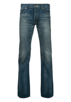 Addict Clothes Japan washed boot-cut jeans - Blue