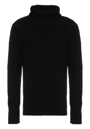 Ann Demeulemeester pepito roll neck jumper - Black