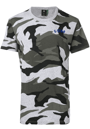 G-Star Raw Research camouflage print T-shirt - Grey