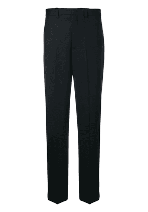 Erika Cavallini creased straight let trousers - Blue