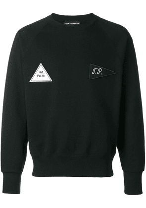 Gosha Rubchinskiy patch detail sweatshirt - Black