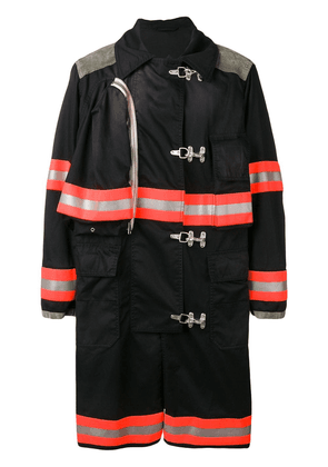 Calvin Klein 205W39nyc firefighter coat - Black