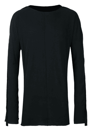 Cedric Jacquemyn long sleeved long T-shirt - Black