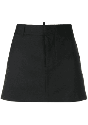 Dsquared2 tailored A-line mini skirt - Black