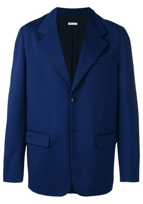 Marni classic fitted blazer - Blue