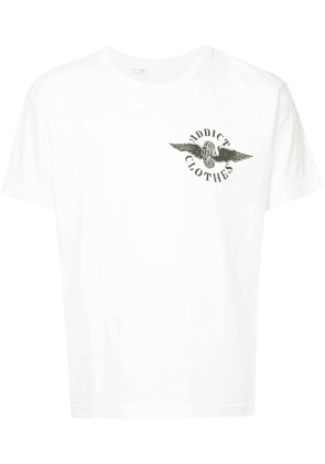Addict Clothes Japan fly wheel T-shirt - White