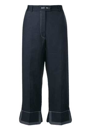 Loewe cropped trousers - Blue