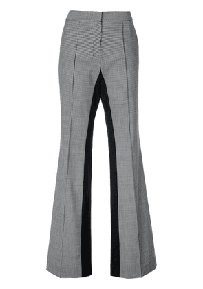 Dorothee Schumacher checked flared tailored trousers - Black