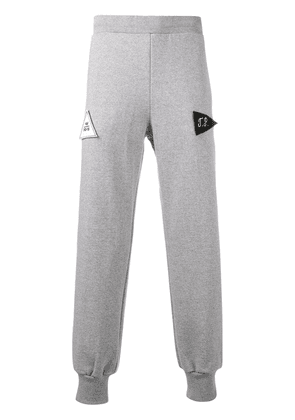 Gosha Rubchinskiy patch detail sweatpants - Grey