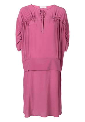 Christian Wijnants Dakira layered-effect dress - Pink
