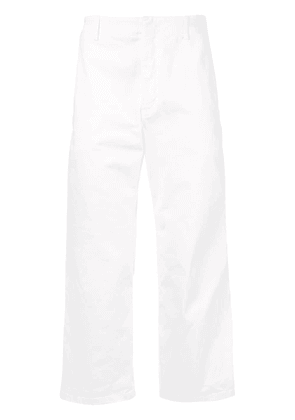 No21 cropped tailored trousers - White