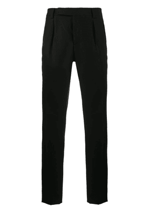Saint Laurent pleated trousers - Black