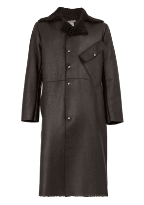 Cherevichkiotvichki single-breasted coat - Brown