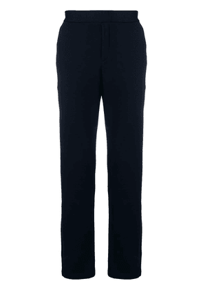 Bottega Veneta straight leg track pants - Blue