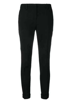 No21 cropped skinny fit trousers - Black