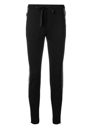 Dorothee Schumacher side-striped trousers - Black