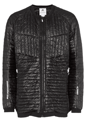 Adidas By White Mountaineering Microdown collarless padded jacket -