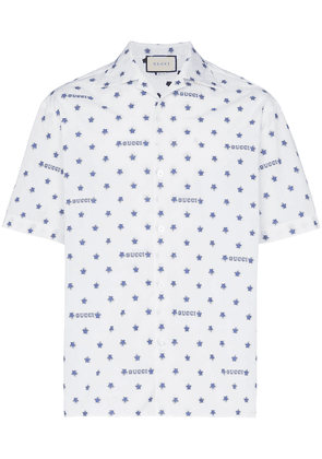 a27026bfd8a7 Gucci logo star print shirt | White | MILANSTYLE.COM