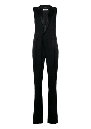 Saint Laurent tailored fitted jumpsuit - Black