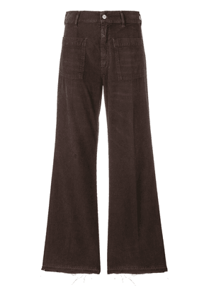 Golden Goose Deluxe Brand bootcut flared corduroy trousers - Brown
