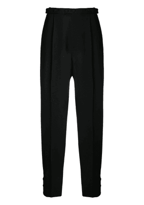 Givenchy tailored button detailed trousers - Black