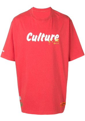 Heron Preston Culture printed oversized T-shirt - Red