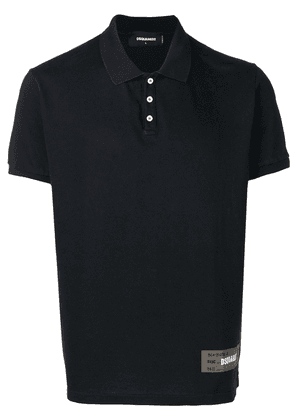 Dsquared2 piqué polo shirt - Black