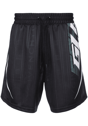 Givenchy branded swim shorts - Black