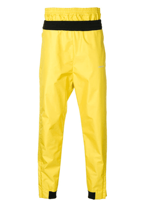 Ambush layered track pants - Yellow